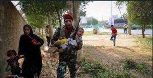 رسیدگی سریع به مجروحان حمله تروریستی به مراسم بزرگداشت دفاع مقدس در بیمارستان مهر